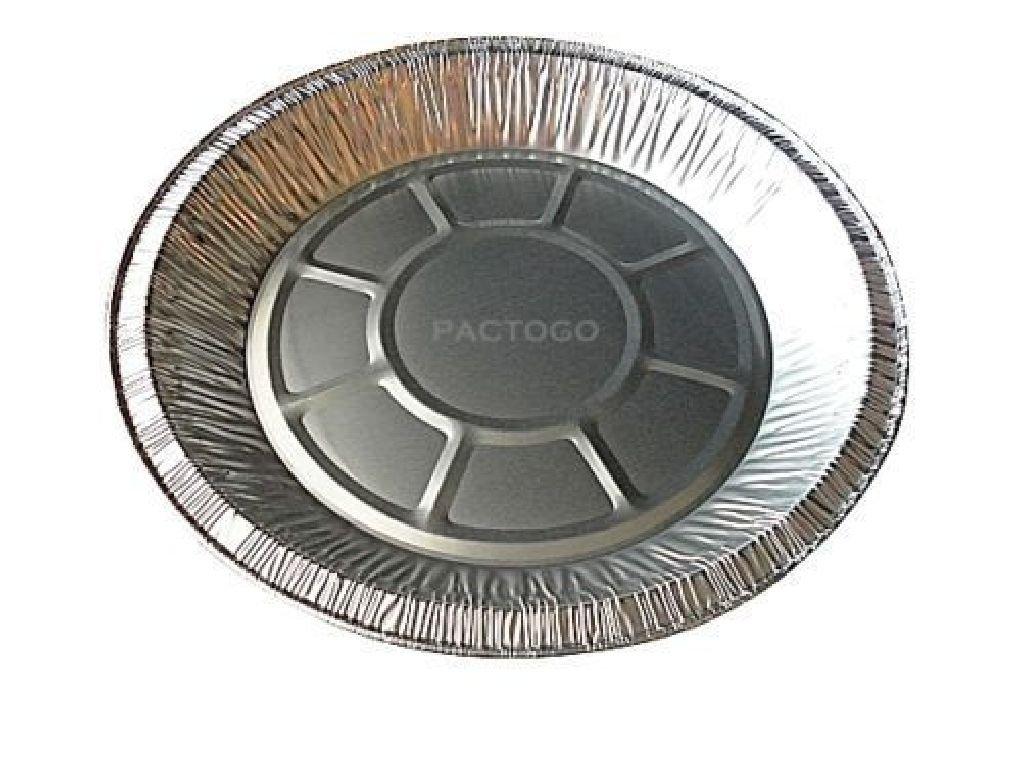 9'' Aluminum Pie Pan 1'' Deep Disposable Baking Tin Plates #304