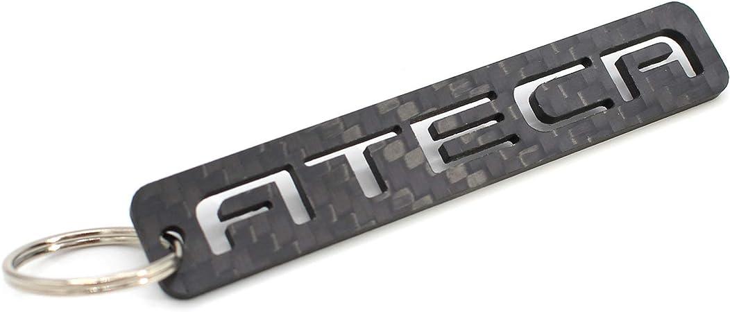 Vmg Store Ateca Schlüsselanhänger Aus Carbonfaser Cfk Carbon Auto