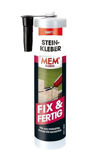 Mem Stein-kleber Steinkleber Fix & Fertig 425g Schwarz Baustoffe & Holz