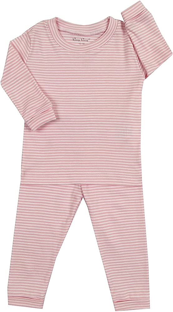 Kissy Kissy Baby-Girls Infant Pajamas Stripes Long Pajamas Set