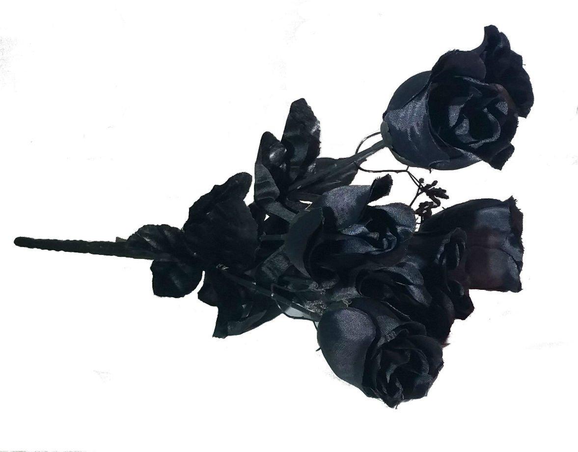 人工ブラックバラ(つぼみ) Bouquet B072Q2T9KY