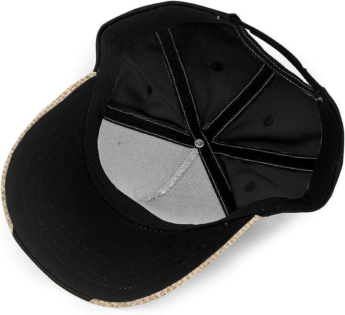 Vintage Design Vintage Sika Deer Lightweight Unisex Baseball Caps Adjustable Breathable Sun Hat for Sport Outdoor Black