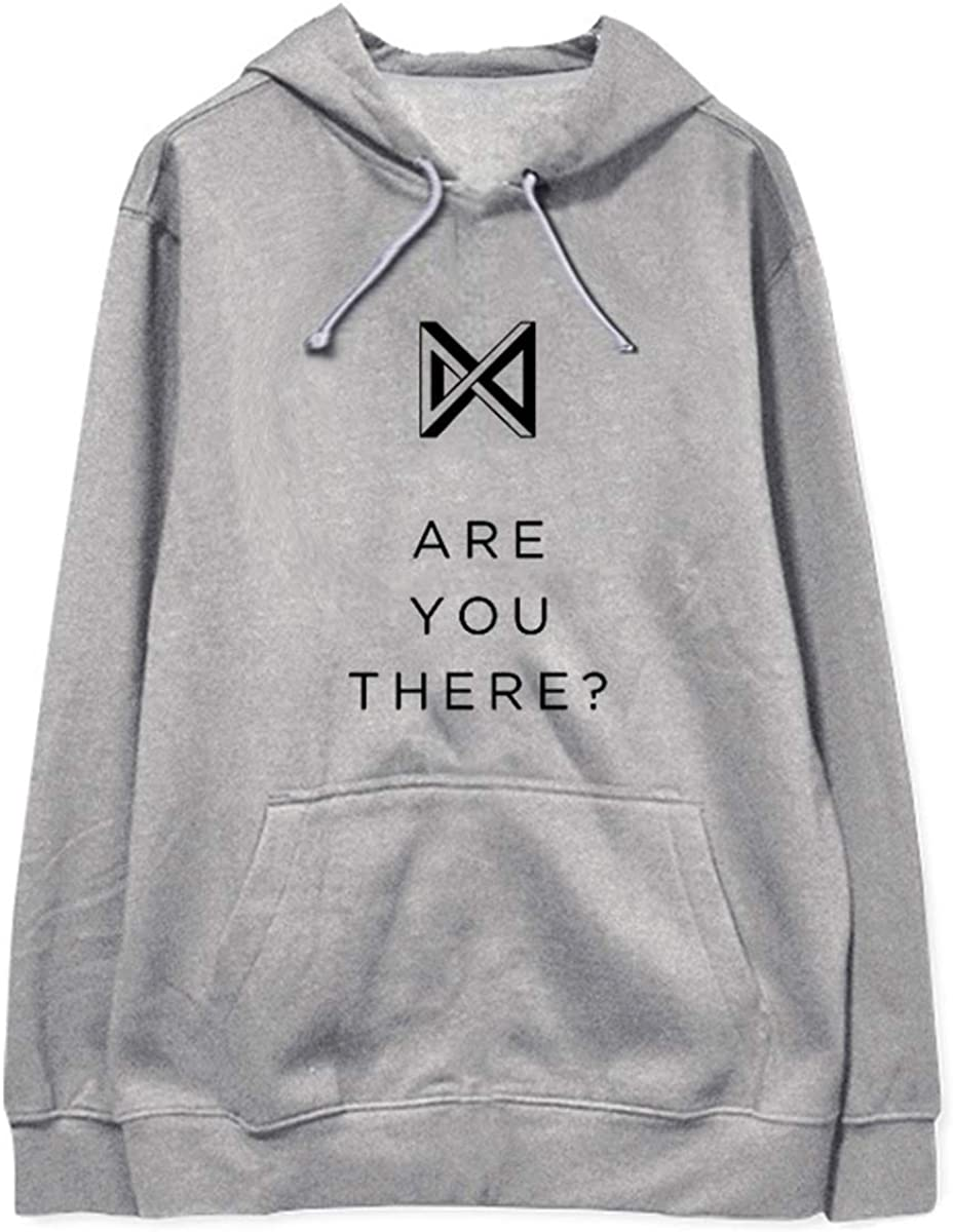 Kpop Monsta X are You There Sweatshirt Unisex Hoodies Hooded Pullovers