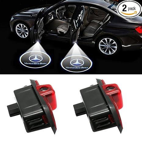 Amazon.com: Klinee - Proyector LED para puerta de coche ...