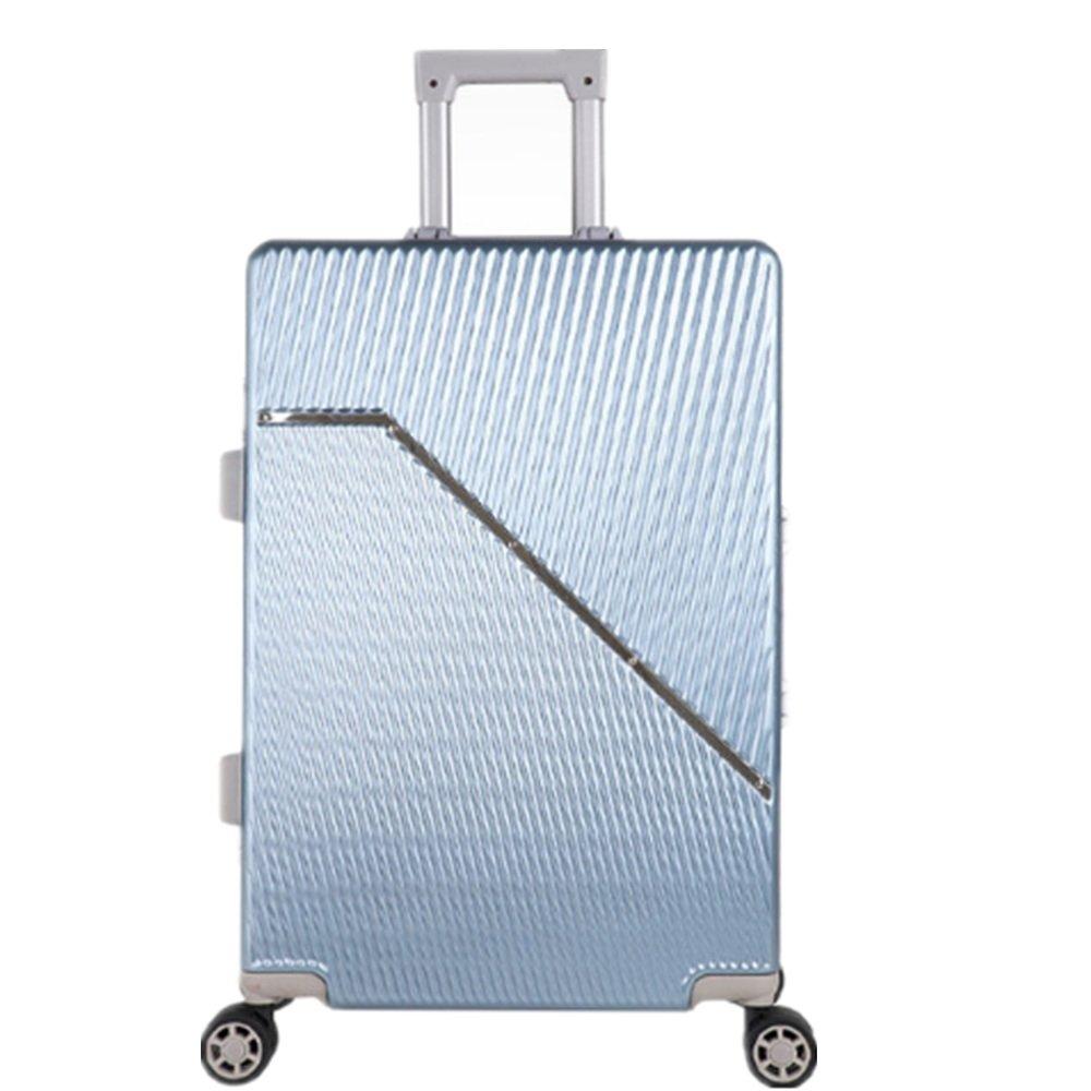荷物ケース, スーツケース, トロリーボックスアルミフレーム学生搭乗ボックストランクユニバーサルホイール男性の旅行バッグ女性のパスワードボックス20/24インチ 荷物エアボックススーツケース (サイズ : 24) B07SQVG3HR  24