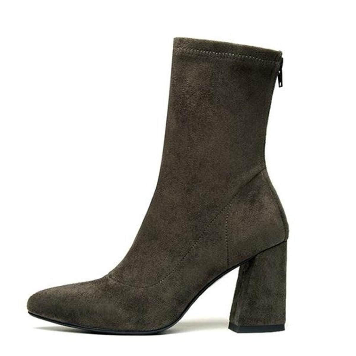 GTYMFH Mode Neue Stiefel Zeigte High Heels Schuhe