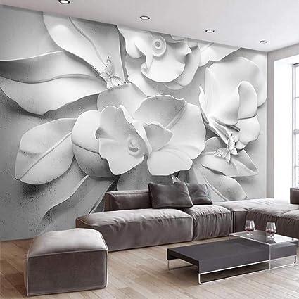 Carta Da Parati Murale 3D,Moderno Stereoscopic Embossed ...