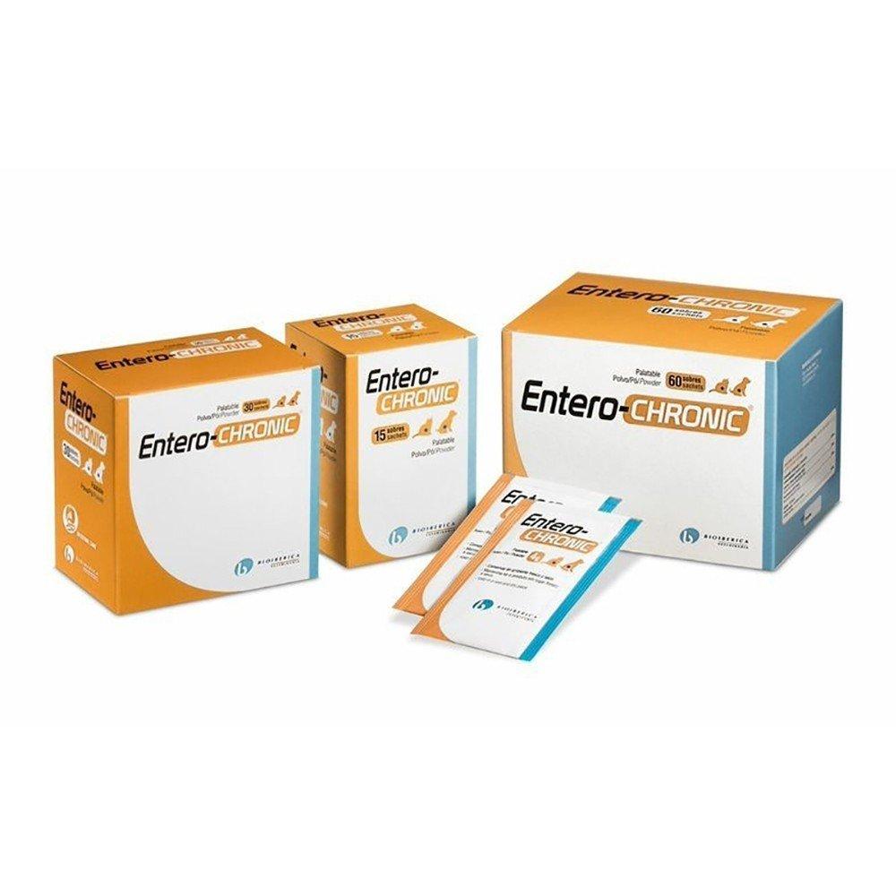 Bioiberica Pack de 30 Sobres de Antidiarreico Entero-Chronic