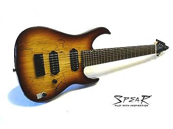 8 de cuerdas de guitarra eléctrica