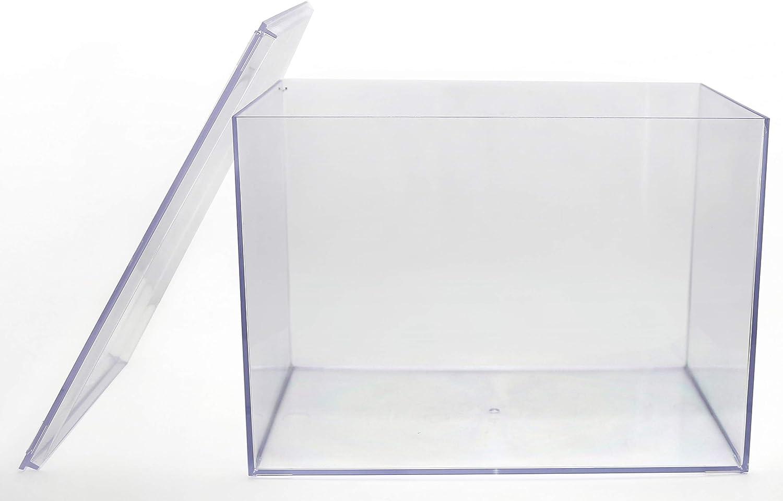 """Clear Plastic Display Box - 12 1/2""""L X 8 1/2""""W X 8 1/2""""H - 1 Box"""