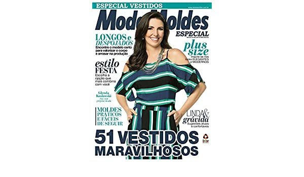 e2bcf02c9 Moda Moldes Especial Ed.22 Vestidos (Portuguese Edition) - Kindle edition  by On Line Editora. Arts & Photography Kindle eBooks @ Amazon.com.