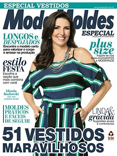 b1b6e8272 Moda Moldes Especial Ed.22 Vestidos (Portuguese Edition) by [On Line Editora