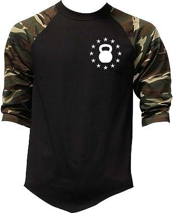 Mens Kettlebell Star Emblem V401 Black Fleece Jogger Sweatpant Gym Shorts