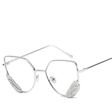 New fashion Street shot personality glasses Wings trend ...