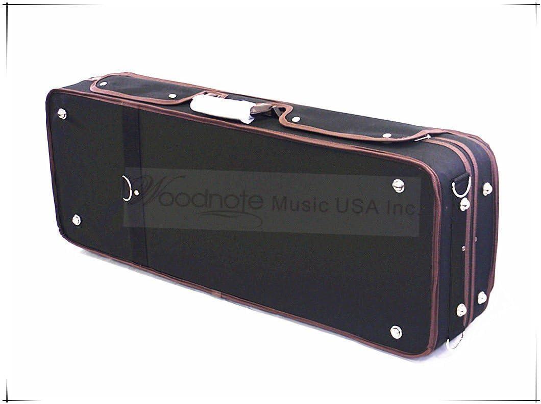 15 to 16.5 Viola Woodnote VAC-700 Enhanced Foamed Adjustable Viola Case Fit