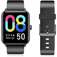 Smartwatch, dames heren smartwatch met bloedzuurstof, 3,5 cm groot kleurendisplay, fitnessarmband met hartslagmeter…