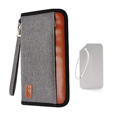 Amazon.com: Funda para pasaporte PlayingG, bolsa para ...