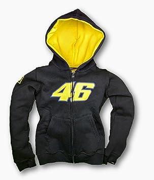 Valentino Rossi MotoGP 46 niño Azul Marino Sudadera con Capucha Sudadera, Azul Marino, XS: Amazon.es: Deportes y aire libre