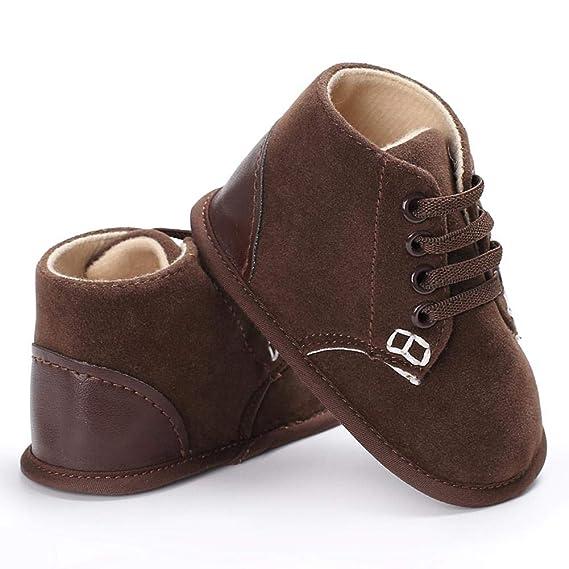 Primeros andadores Zapatos de bebé suaves Zapatos para niños ...