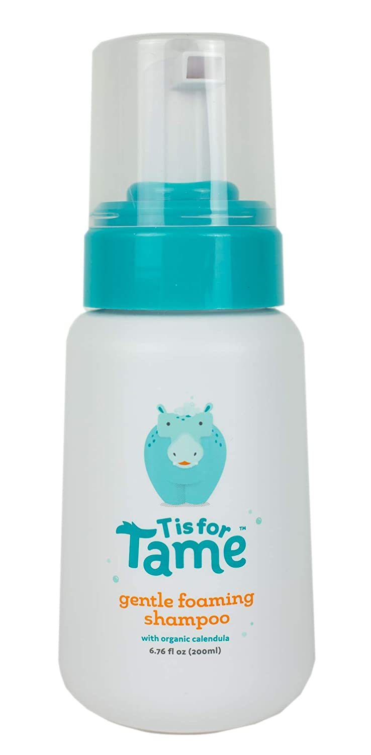 T is for Tame | Cradle Cap Gentle Foaming Shampoo | Safe for Babies+ | Natural and Organic Ingredients | Dermatologist Tested | 200ml