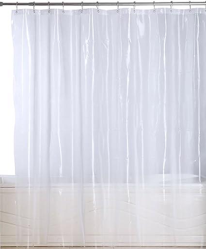 Amazon.com: Utopia Bedding Premium Mildew Resistant Shower Curtain ...