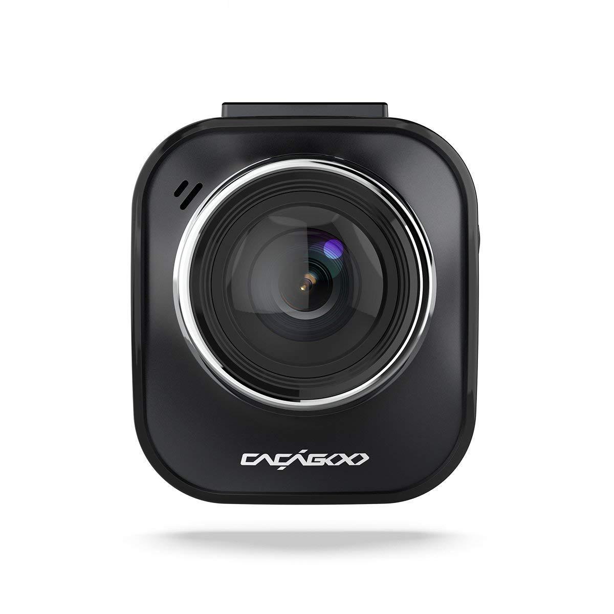CACAGOO Dash Cam Auto Kameras im Auto Dashcam FHD 1080P DVR Digital fahren Video Recorder mit 170 ° Weitwinkel 6G Objektiv HDR Super Nachtsicht Loop Aufnahme G-Sensor Parkplatz Monitor Bewegungserkennung