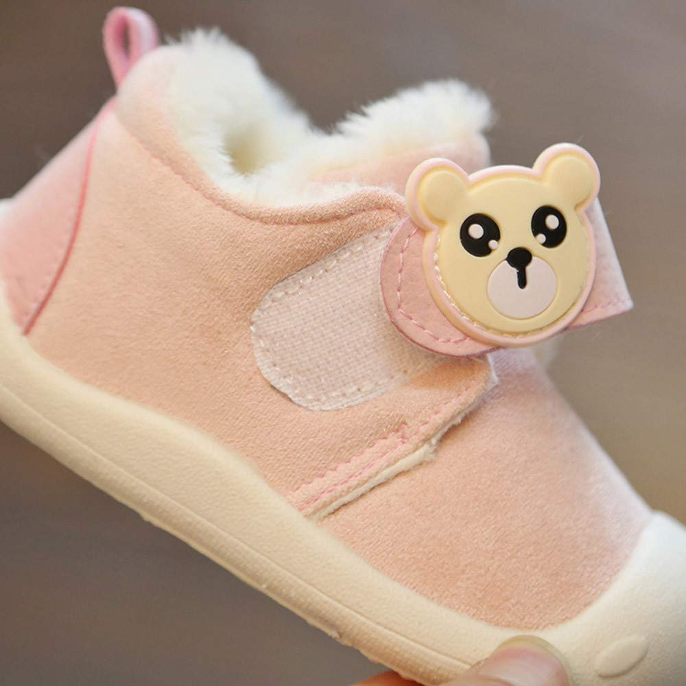 Anti Slip Safe Warm Shoes Fit US Girls Kids Pink /& Green PrettyW Doll Sneakers Pink, US-6.5