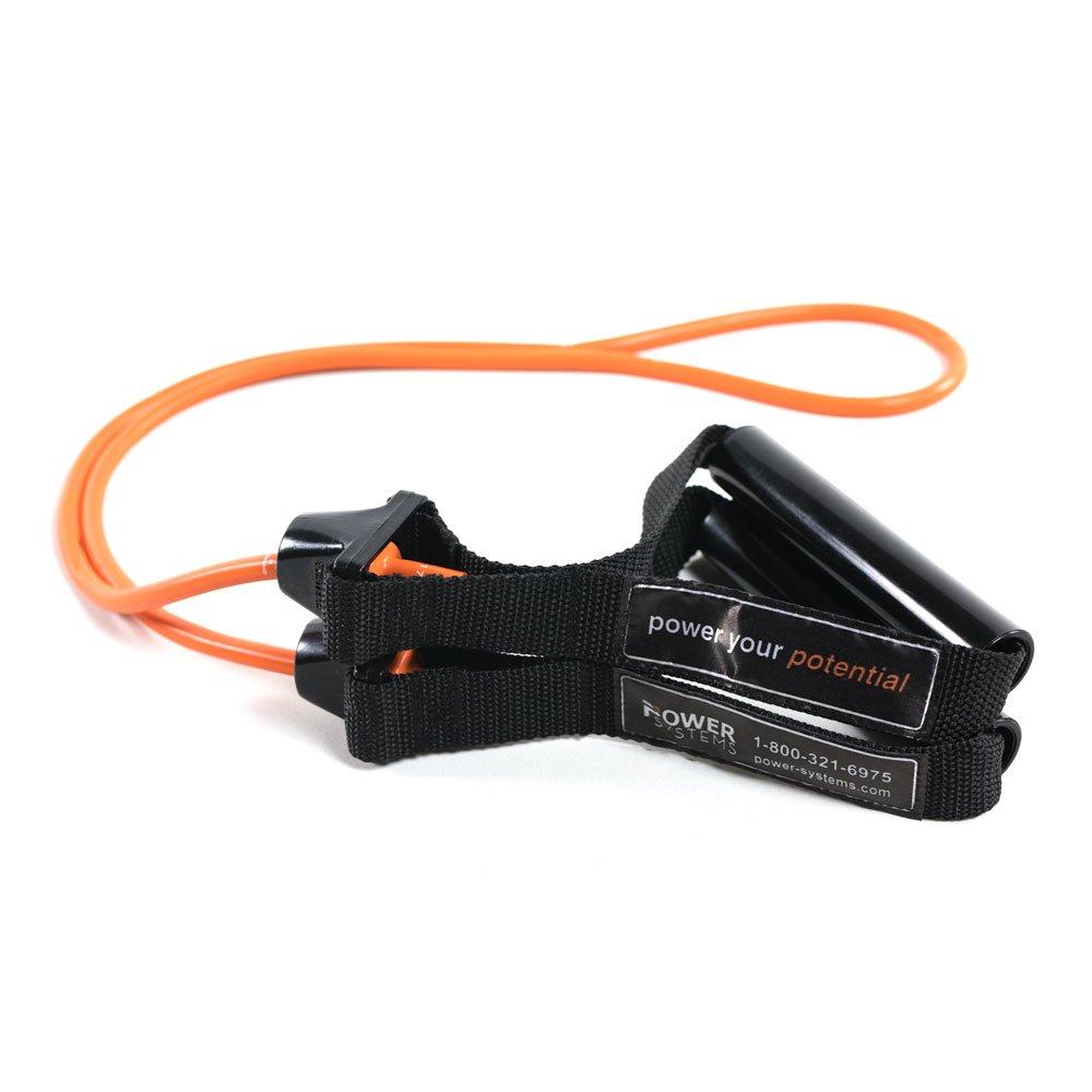 Power Systems Versa Tube Resistance Band Level: Extra Light Orange 84044 60 Inch