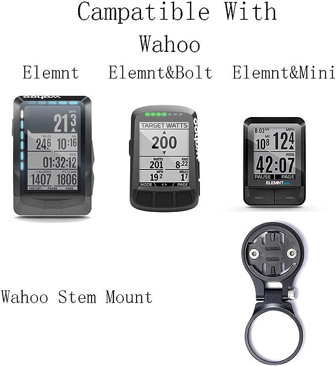 Best Tek Wahoo Elemnt Stem Mount,Wahoo Mount for Wahoo Elemnt /& Elemnt Mini,