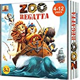 ZOORegatta Family Board Games for Kids Ages 4-8. Award Winning Fun Animal Board Game fro 2-4 Players. Educational Develops Strategic Thinking, Social Skills, Geography