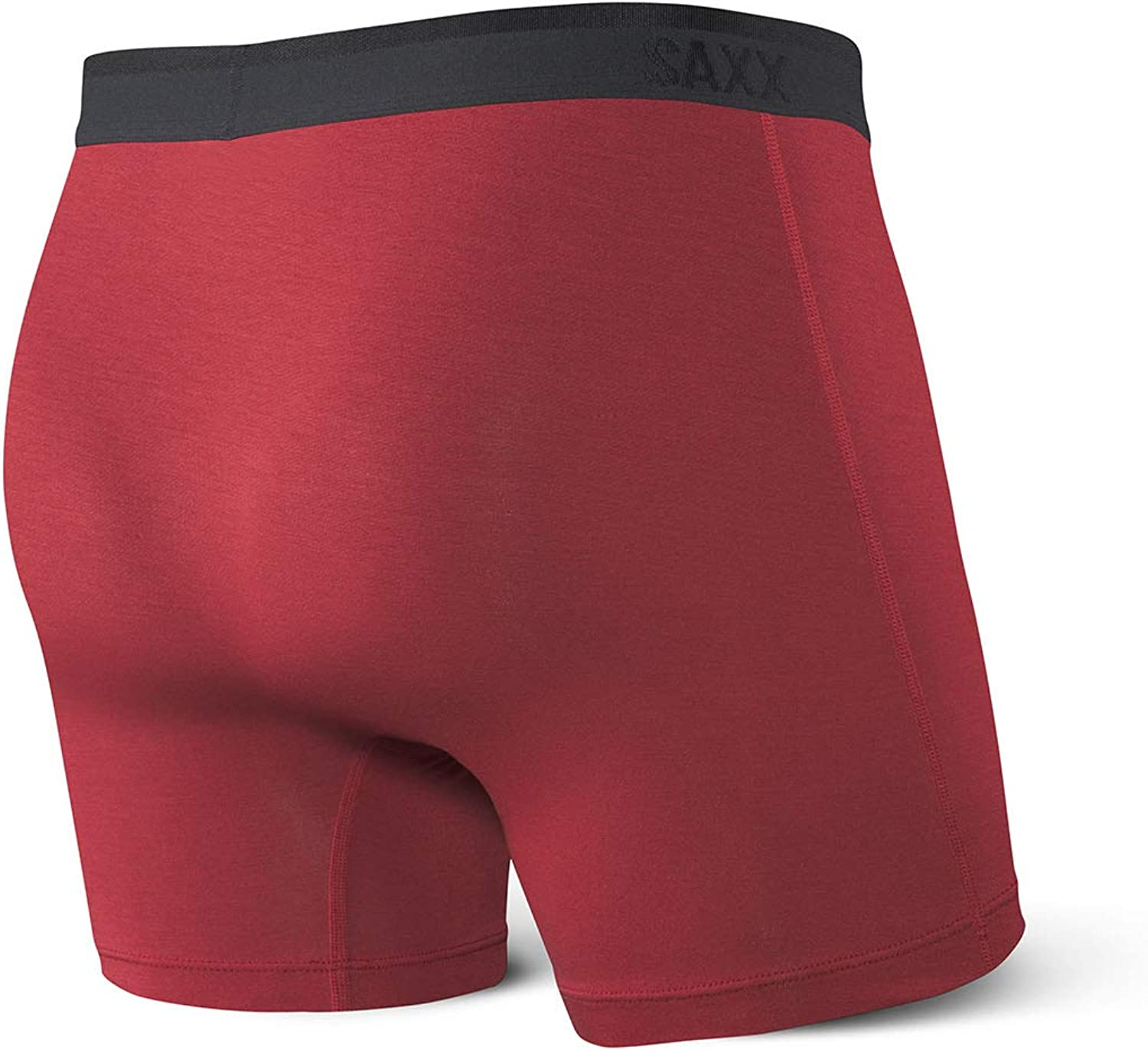 Platinum Men/'s Underwear Saxx Underwear Mens Boxer Briefs Boxer Briefs with Fly and Built-in Ballpark Pouch Support
