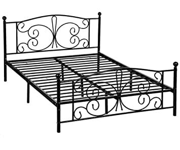 Amazoncom Metal Platform Bed Box Spring Replacement Includes Metal