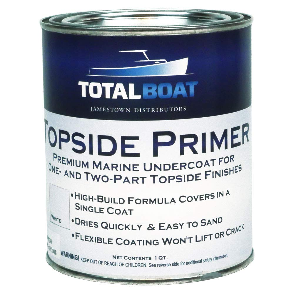 TotalBoat Topside Primer (White, Quart)