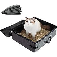 Waterdichte kattenbakbak, draagbaar kattentoilet, draagbare opvouwbare kattenbakbak, opvouwbare kattenbakbak…