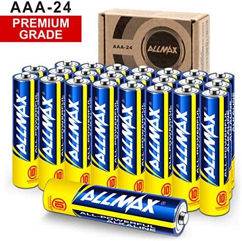 Batteries: ALLMAX