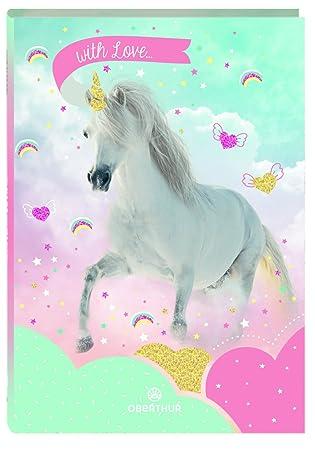 2018 - 2019 agenda Oberthur 1jour por página unicornio ...
