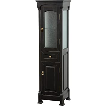 linen cabinet tower 18 wide corner cabinets plans collection bathroom storage antique black