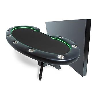 Surprising Amazon Com Bbo Poker Lumen Hd Lighted Poker Table For 10 Beutiful Home Inspiration Xortanetmahrainfo