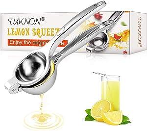 Lemon Squeezer, Lemon Lime Squeezer, Lemon Squeezer Stainless Steel, Manual Juicers, Manual Lemon Squeezers Hand Lime Juicer Press Lemon Press, Heavy Duty Lemon Juicer