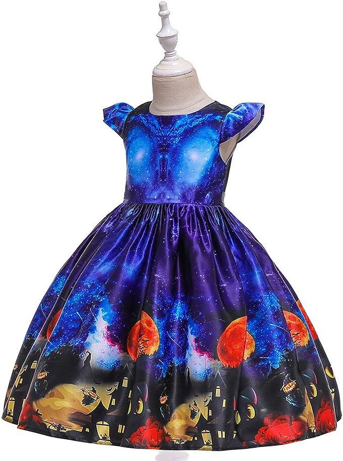Oceninok Niñas Vestido de Halloween, Falda Princesa Tul de ...