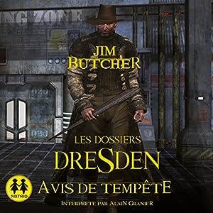 Avis de tempête (Les Dossiers Dresden 1) | Livre audio