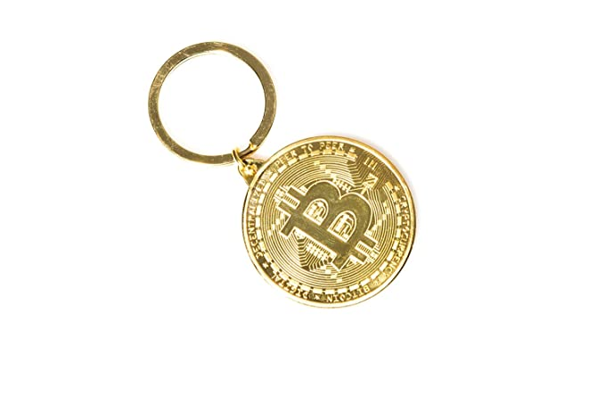 Amazon.com: Bitcoin Token/moneda llavero chapado en oro Real ...