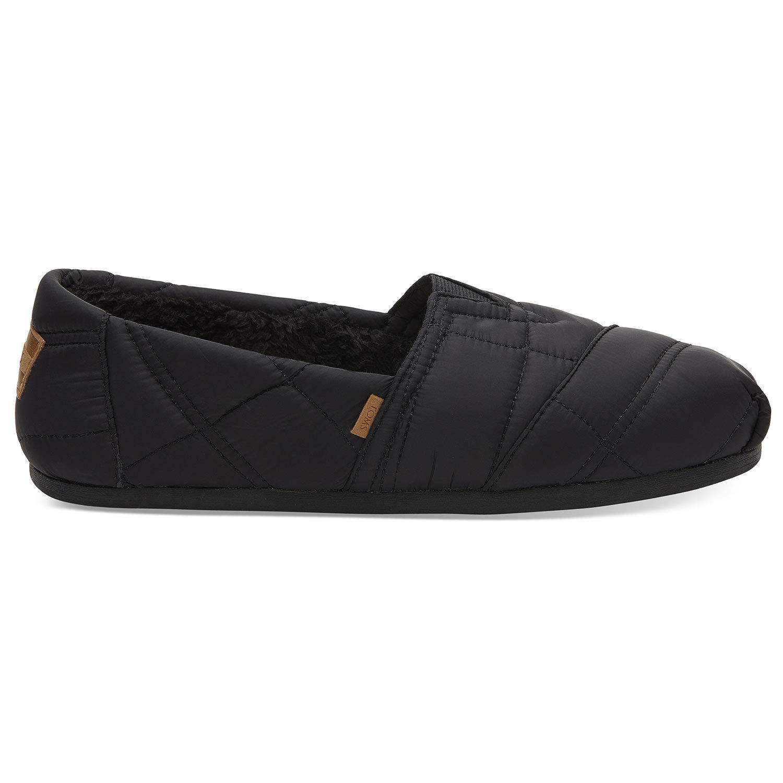 cd4333a913f Amazon.com  TOMS Black Quilted Nylon Men s Alpr ESP 10012608 (Size  10)   Shoes