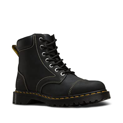Dr. Martens Men's Ranch NS 7 Eye Boots, Black, 10 M UK,