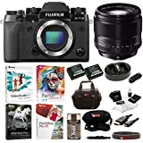 Fujifilm X-T2 Camera with XF 56mm f/1.2 R Prime Portrait Lens and 32GB Card Bundle