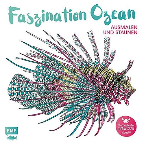 Faszination Ozean – Ausmalen und Staunen: Überraschendes Tierwissen inklusive