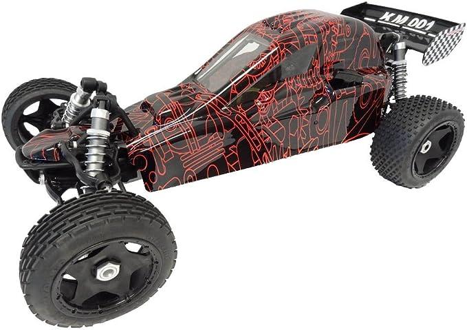 King Motor Bodyshell Wild Red Fits Baja Buggy 001 2.0 5B