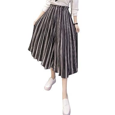 Falda Pantalon Mujer Elegante Niña Fashion 3/4 Pantalones Verano ...