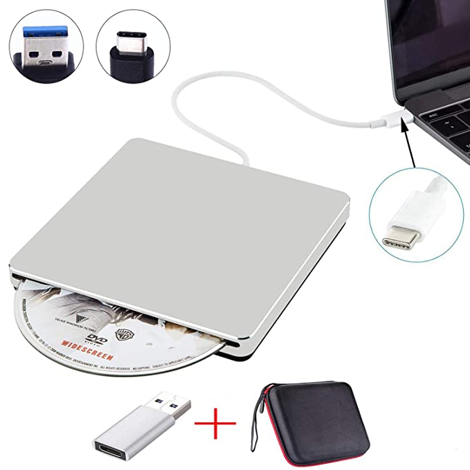 Best External Dvd Drive For Windows 10 2020 Amazon.com: NOLYTH External USB CD DVD Drive USB C Slot in