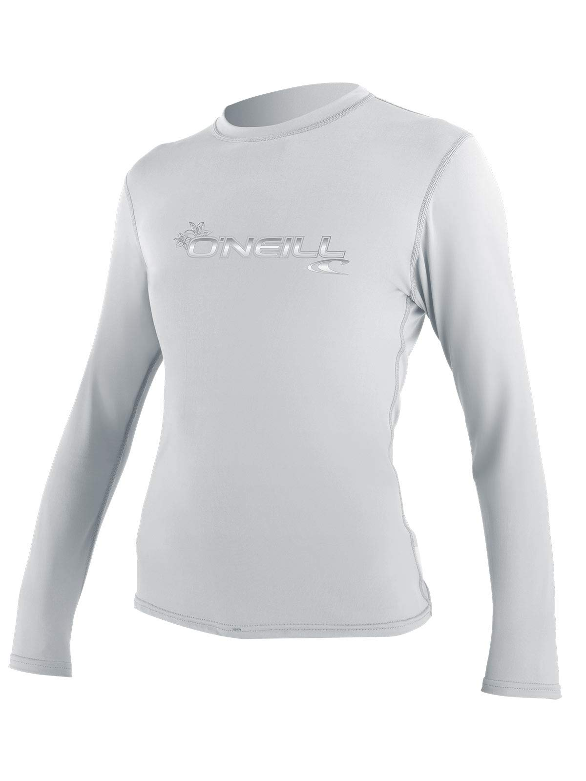O'Neill Women's Basic Skins Long Sleeve Sun Shirt (White (4340IS), XX-Large) by O'Neill Wetsuits